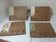 clearance- 4bar envelopes, envelopes, snail mail envelopes, mail art envelopes, penpal envelopes, decorated envelopes