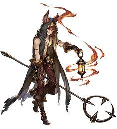 Granblue Fantasy Character Art