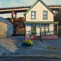 "Daily Paintworks - ""Troll Pad"" - Original Fine Art for Sale - © Nora Bergman"