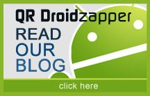 QR Droid Zapper | For Android Developers: Other apps can easily use QR Droid's services using Intents. More info can be found here: http://qrdroid.com/android-developers.php