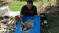 4-30-13 Dean Rotumah - Aboriginal Artist Australia