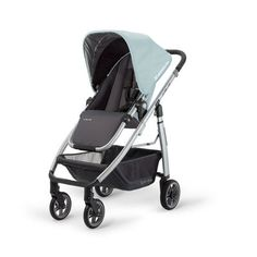 UPPAbaby Cruz Stroller.  Can be used as a travel system with infant carseat adapter.  LOVE THIS LIGHTWEIGHT TRAVEL SYSTEM!!  Only 17 lbs & the seat is reversible.  All material is washable.
