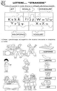 Lettere straniere