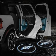 MINI Puddle Light System - Fits all MINI models 2007 to current. USE Discount Code PIN10 for 10% OFF.