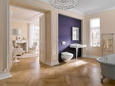 Contemporary and Traditional Bathroom Furniture, Showroom, Oversized Mirror, Modern Design, Bathtub, Relax, Contemporary, Cabinet, Homes