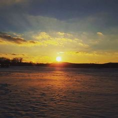 Snow cleanses the earth.  #letitsnow #sunset #awesomecreator by dixon_elijah