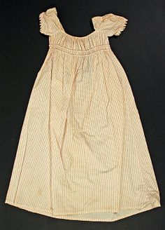 Dress Date: 1805–15 Culture: American Medium: cotton Dimensions: Length at CB: 25 1/4 in. (64.1 cm) Credit Line: Gift of Eleanor Goodspeed A...