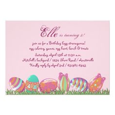Shop Easter Egg March, Holiday Birthday Party Invitati Invitation created by PixiePrints. Personalize it with photos & text or purchase as is! Birthday Party For Teens, Birthday Party Celebration, Teen Birthday, Holiday Invitations, Birthday Party Invitations, Birthday Cards, March Holidays, Invitation Paper, Egg Hunt