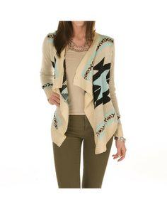 Sweater Cardigan - Mint
