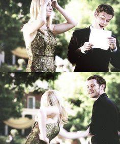 #TVD The Vampire Diaries Caroline & Klaus