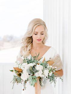 Elegant Winter Wedding Inspiration Captured by Rachel Elaine Photography | Hair + Makeup: Brittany Jones Hair + Makeup #bridesofnorthtx #weddings #beauty #hairandmakeup