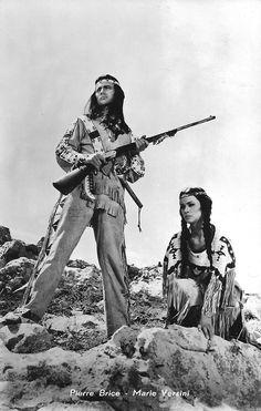 Pierre Brice, Native Americans, Wild West, Westerns, Cinema, Culture, Star, Film, Movies