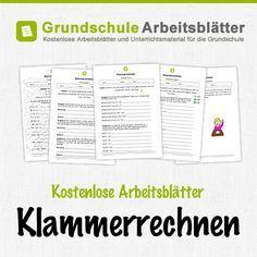 Kostenlose Arbeitsblätter und Unterrichtsmaterial für den ...