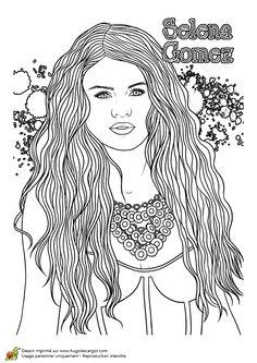 Dessin coloriage du chanteur ma tre gims dessins de stars pinterest coloriage ma tre - Coloriage chanteuse ...