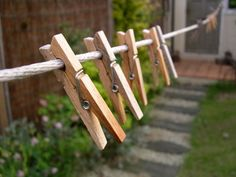 GBP - 24 Large Wooden Pegs Clothes Hanging Washing Line,Airer,Dryer,Quality Spring & Garden Laundry Detergent Recipe, Powder Laundry Detergent, Spring Fair, Summer Fair, Spring Summer, Vermont, Lava, Fete Ideas, Social Contract