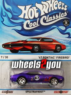 67 PONTIAC FIREBIRD purple 2013 Hot wheels Cool Classics B Case Mustang Wheels, Ford Mustang Coupe, Hot Wheels Treasure Hunt, T Bucket, Matchbox Cars, Hot Wheels Cars, Pontiac Firebird, Cool Toys, Diecast