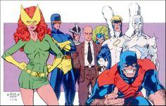 X-Men by Arthur Adams. The originals.