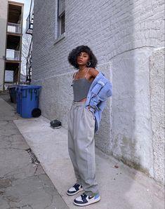 Girls Winter Fashion, Black Girl Fashion, Look Fashion, Mode Outfits, Casual Outfits, Fashion Outfits, Poses, Aesthetic Clothes, Streetwear Fashion