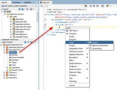 Create ADF Project Gantt Chart with Subtask and dependency from ADF Table