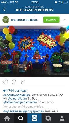 Festa heróis