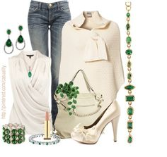 """""""Emerald Inspired"""" by casuality on Polyvore"""