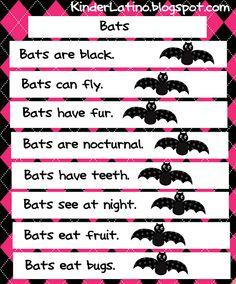 A free bat English anchor chart.