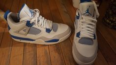 Come list sneakers for FREE! Jordan 4 military blues size 11 #sneakerfiend #flykicks #snkrhds #instakicks #sneakerheads #shoegame #airjordan - http://sneakswap.com/buy-retro-sneakers/jordan-4-military-blues-size-11/