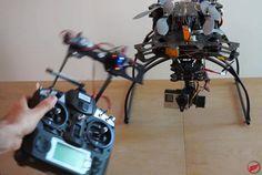 Proyecto Arduino con el que puedes Controlar el vuelo y la cámara de tu dron mediante gestos gracias a Arduino