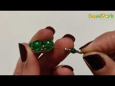tutorial perline TROTTOLA bead - in collaborazione con BEADPARK - YouTube Tutorial, Stud Earrings, Beads, Youtube, Jewelry, Beading, Jewlery, Jewerly, Stud Earring