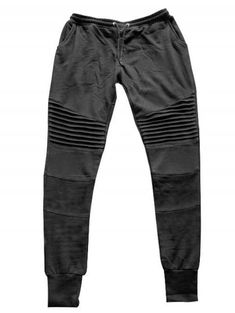 cc3d7a67 Pleats Design Drawstring Biker Jogger Pants - BLACK XL Jogger Pants,  Joggers, Sweatpants,