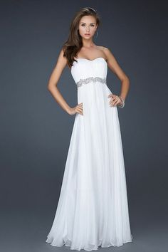 prom dresses 2013 | ... How to Pull it Off Without a Hitch : Sexy Long White Prom Dress 2013