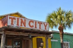 Continuing my blog series on Naples, Florida. This time... Tin City. A fun, waterfront shopping and dining center. http://mypaisleyworld.blogspot.com/