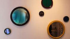 AD Intérieurs 2016 | La salle de bains d'une égérie de Daniel Suduca et Thierry Mérillou. Miroirs de Marianna Kennedy