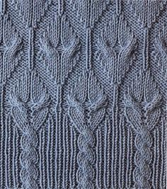 Knitting Stitch Patterns | Rahymah Handworks cables