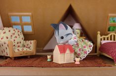 Sylvania Grove – Miniature toy photography of Sylvanian Families dioramas Sylvanian Families, Cute Toys, Toys Photography, Cute Pictures, Miniatures, Kids Rugs, Dolls, Blog, House