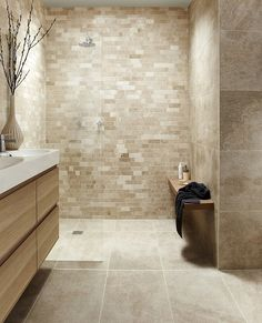 Tops Tiles Antalya Cream Irregular Linear Mosaic £12.59 a tile Size 30.6cm x 30.6 cm Code 041300