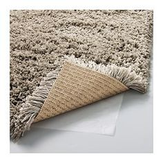 HAMPEN Rug, high pile, beige - beige - IKEA