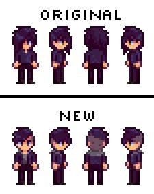 Sebastian - New Hair and Moto Jacket at Stardew Valley Nexus - Mods and community