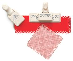 Martha Stewart Crafts - Valentine's Day Collection - Punch Around the Page - Craft Punch Set - Dancing Hearts at Scrapbook.com $24.99