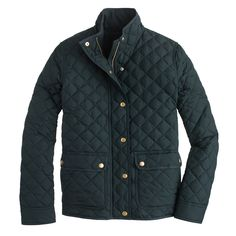 Petite quilted puffer jacket - outerwear & blazers - Women's petite - J.Crew