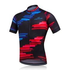 Blue and Red Cycling Jersey – The Cycling Fever