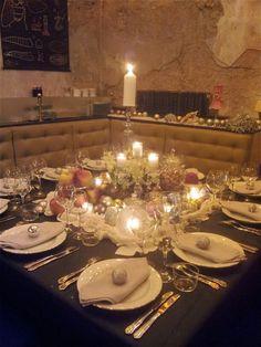 Diner #findining #ralphnuss #artdelatable #candles #tablessettings #noel #christmas #chef #vintage #momentsprivilegies