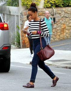11 Looks da Taís Araújo Por Aí Office Outfits, Casual Outfits, Cute Outfits, I Love Fashion, Autumn Fashion, Looks Rihanna, Adventure Outfit, Short Playsuit, Afro Style