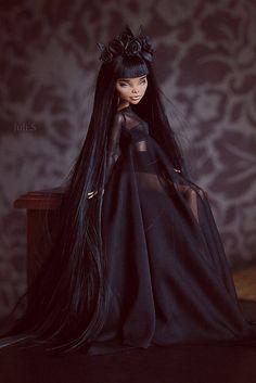 OOAK Monster High Nefera de nile #OOAKbyJuliSidorova #JuliSidorova #OOAKMonsterHigh #MonsterHigh #OOAK #Doll #ООАКМонстерХай #МонстерХай #НеферадеНил #NeferadeNile #OOAKNeferadeNile
