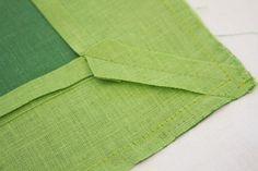 DIY: Bordered Table Linen