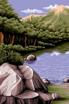 when kevin wins the planet loses Pixel Art Background, Dope Cartoon Art, 8 Bit Art, Digital Texture, Vaporwave Art, Fantasy Landscape, Aesthetic Wallpapers, Kawaii, Game Art