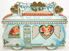 Vintage Valentine Travel Trailer