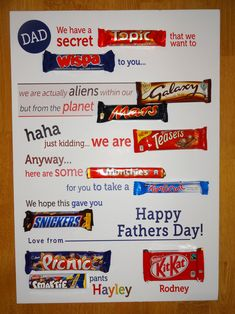 father's day poem ideas