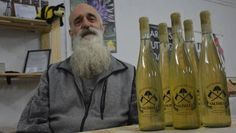 Micheal Magnini, owner of Midgard Meadery in Scotch Lake, sells his homemade mead at local farmer's market and ships orders as far away as Whitehorse, Yukon. (ERIN POTTIE / Cape Breton Bureau)