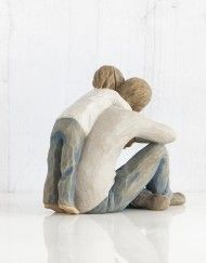 That's my Dad - Willow Tree Figurines – The Shabby Shed Willow Tree Figures, Willow Tree Angels, Pottery Sculpture, Sculpture Clay, Ceramic Pottery, Ceramic Art, Rodin, Wood Carving, Wood Art